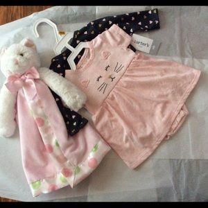 Carter's two piece dress set